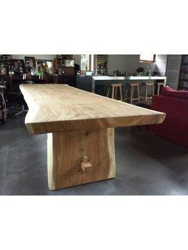 Boomstam tafel 360cm