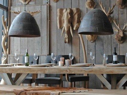 Hanglamp bruin 60cm