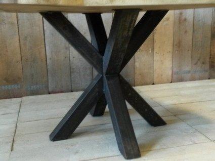 Dubbele X poot - Rustiek  68cm