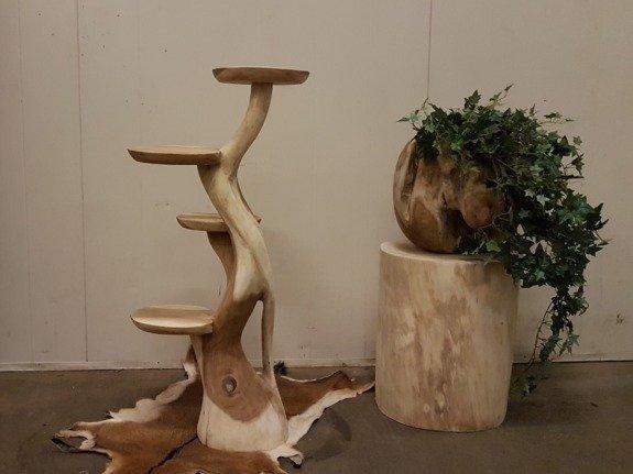 Etagere suarhout 100cm