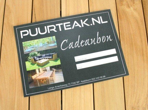 Cadeaubon Puurteak.nl