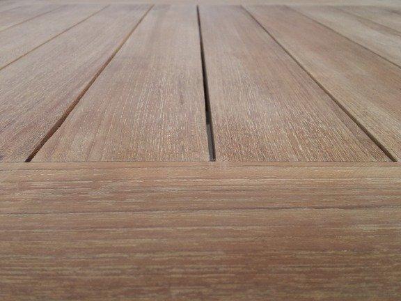 Teak houten tuintafel vierkant Venice 80cm
