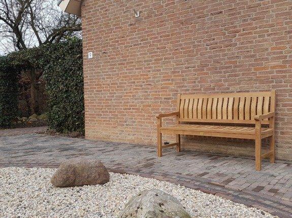 Teak tuinbank Bergamo 150cm