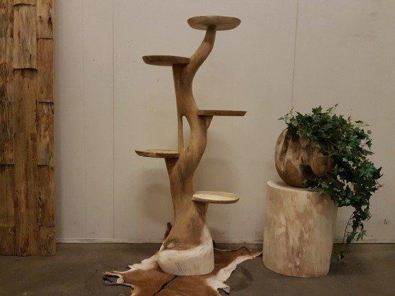 Etagere suarhout 140cm