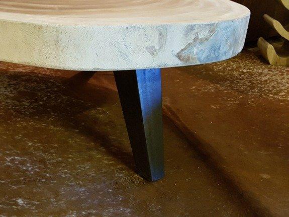 Salontafelpoot metaal vierkant - rustiek - per stuk