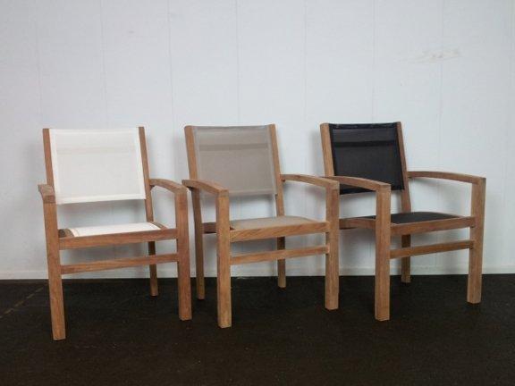 Tuinset Verona 80160 + 4 stoelen Batyline