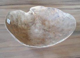 Dunne houten schaal 40cm