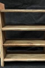 Boomstam boekenkast 110x110x40cm