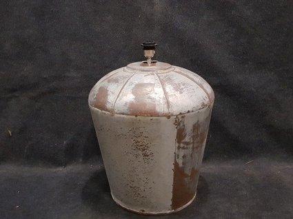 Lampenvoet zink groot - 45x60cm