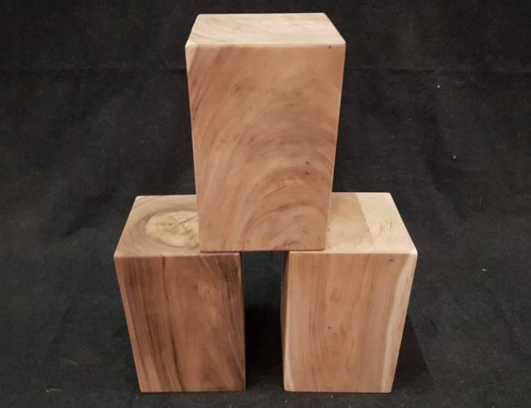Suar houtblok 30x30x48cm