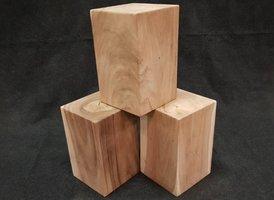 Suar hout blok 30x30x48cm