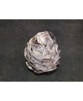 Oesterschelp lamp 30/35cm  AS1870-04