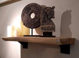 Boekenplank suar 50x180cm zonder steunen