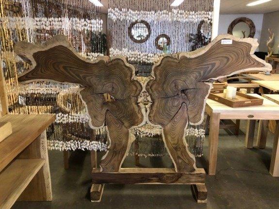 Wortelhouten Vlinder - 155x225cm