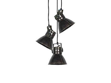 Hanglamp Zilver 3 - spot / 2175