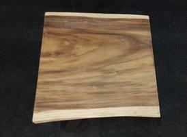 Boomstamtafel vierkant 70x70x7cm - los blad