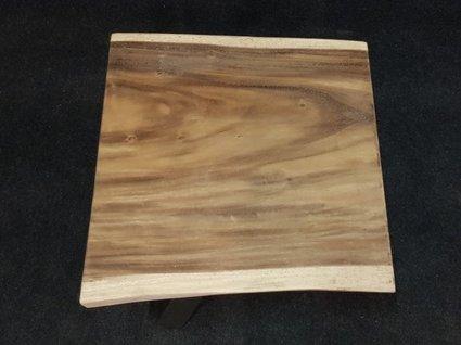 Boomstamtafel vierkant 70x70x7cm los blad