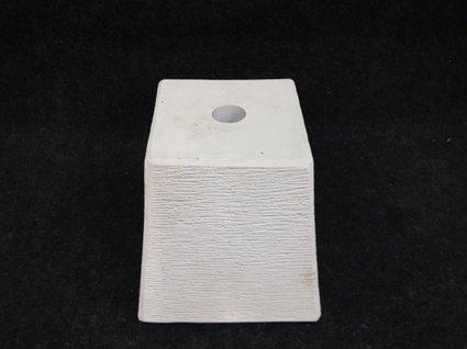 Parasolvoet steen - wit
