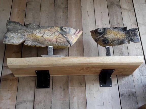 Boekenplank suar 40x160cm zonder steunen