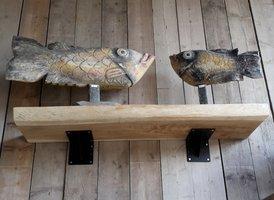 Boekenplank suar 35x140cm