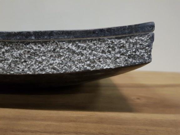 Wasbak Marmer vierkant 40x40x12.5cm