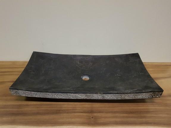 Wasbak Marmer rechthoek 80x40x12.5cm