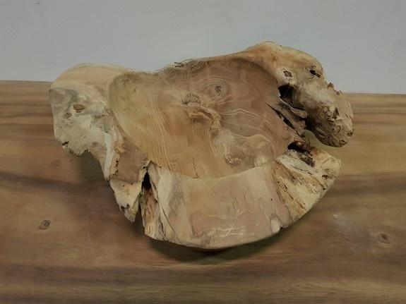 Houten fruitschaal 40cm