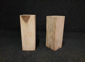 Sokkel 30x30x80cm houtblok