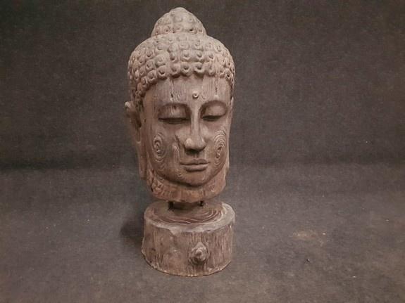 Boeddha - 60x60x120cm zwart - XXL