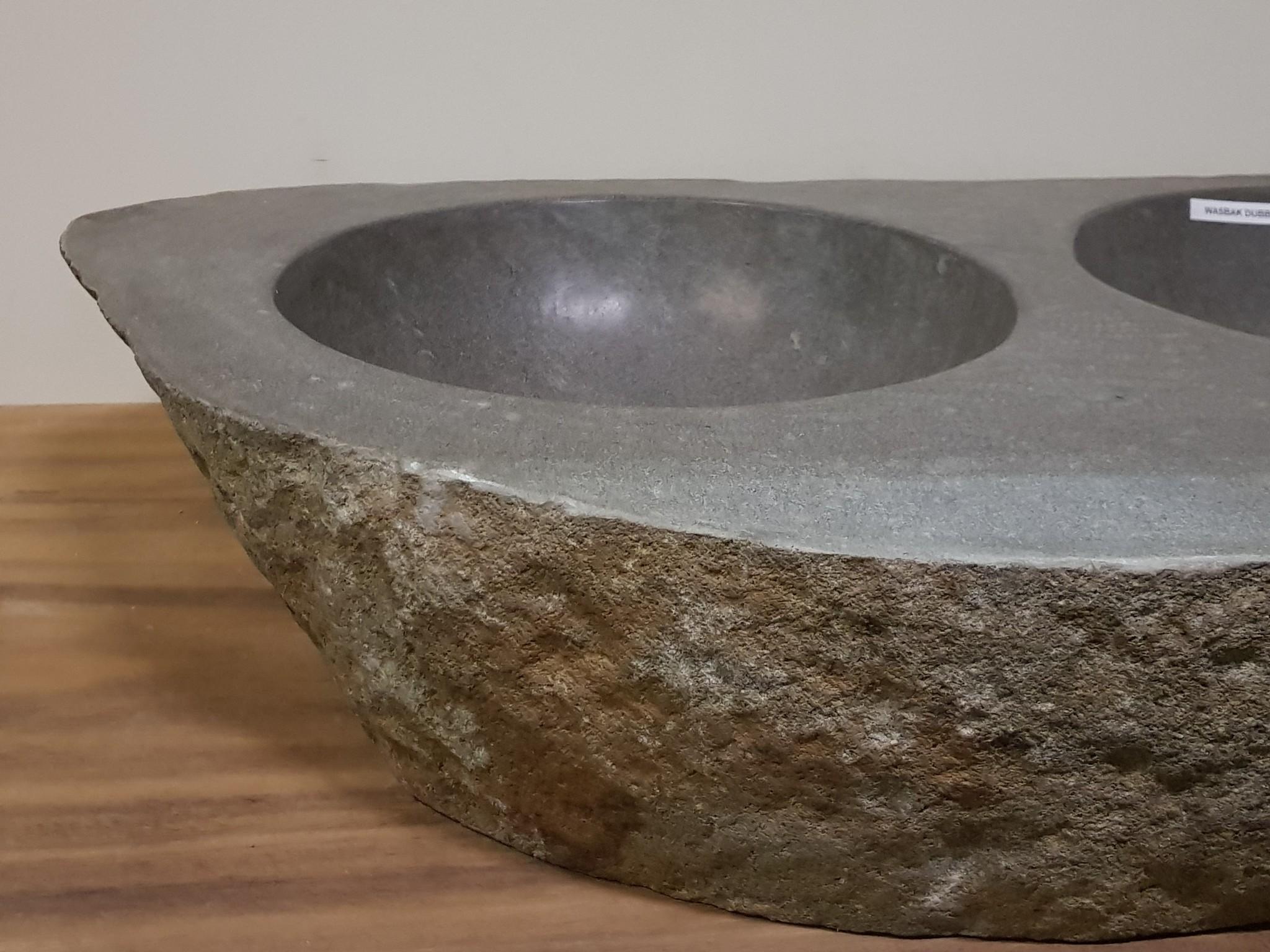 Wasbak natuursteen  FL19167 - 94x55x16cm