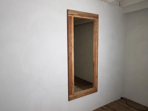 Spiegel 80x180x12cm Naturel - Teak