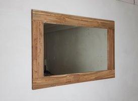 Spiegel 128x85x9cm Naturel - Teak