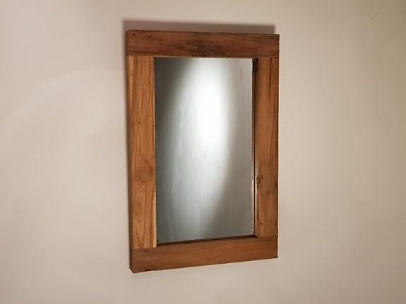 Spiegel 40x60x6cm Naturel - Teak