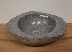 Waskom natuursteen FL19172 - 50x40x17cm