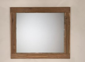 Spiegel 98x85x9cm Naturel - Teak