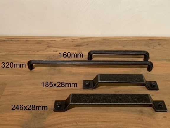 Badkamermeubel hout 80x45x85cm - Naturel
