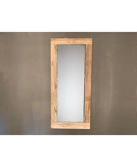 Spiegel 80x180x12cm White Wash - Teak