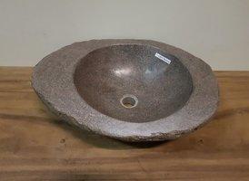 Waskom natuursteen FL2073 - 54x42x15cm