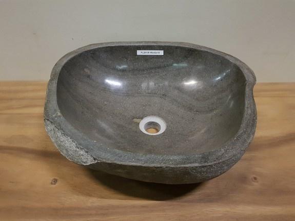 Waskom natuursteen FL20136 - 46x42x15cm
