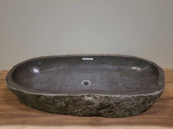 Wasbak natuursteen  FL20196 - 102x50x17cm