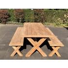 Teak picknicktafel BARI 100x240cm