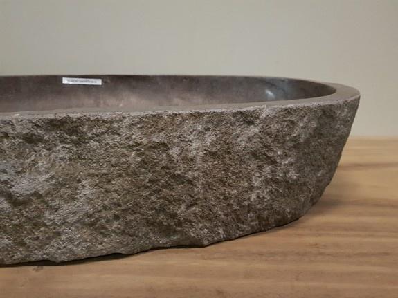 Wasbak natuursteen  FL20197 - 100x47x15cm