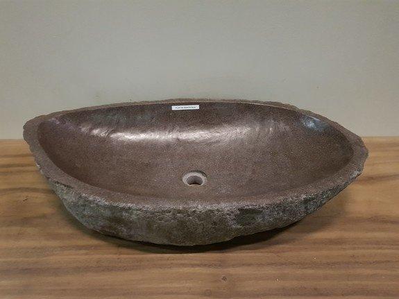 Wasbak natuursteen  FL20198 - 88x47x16cm