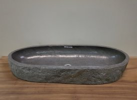 Wasbak natuursteen  FL20201 - 105x39x16cm