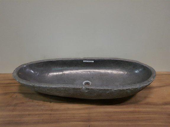 Wasbak natuursteen  FL20202 - 100x39x16cm