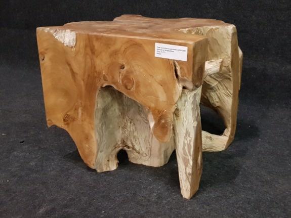 Wortelhout salontafel 50x50x45cm IJ01D-2051