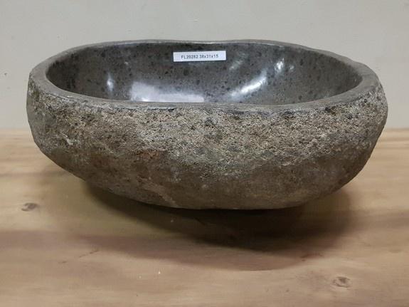 Waskom natuursteen FL20282 - 38x31x15cm