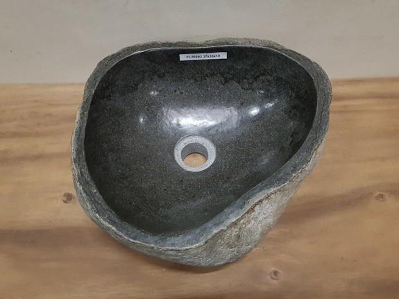Waskom natuursteen FL20283 - 37x33x15cm