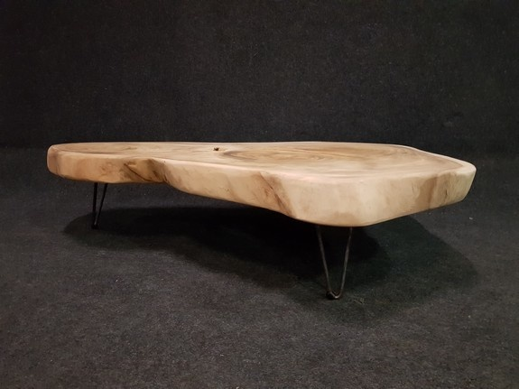 Suar salontafel 120/150x36cm op pinpoot - CA01-1120
