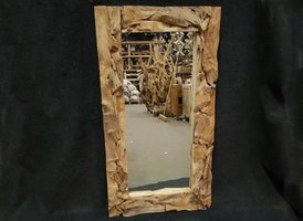 Spiegel, rustiek rechthoek 80x160cm